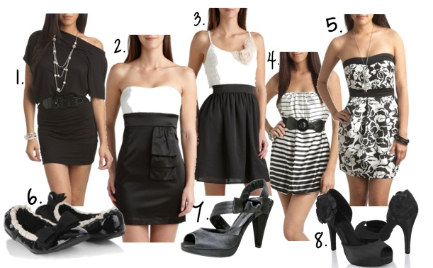 what to wear for black and white party