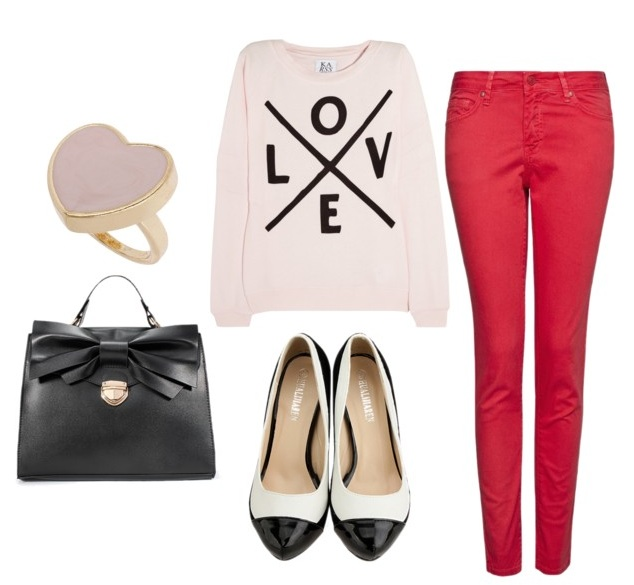 Valentineu0027s Day Outfit 1