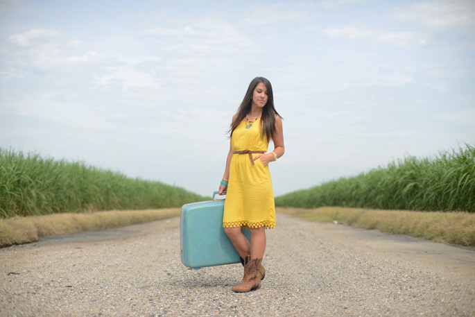 How to wear cowboy boots with a dress | Southern Flair