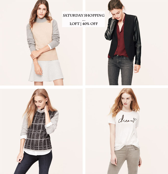 LOFT Fall Favorites | 40% off everything sitewide