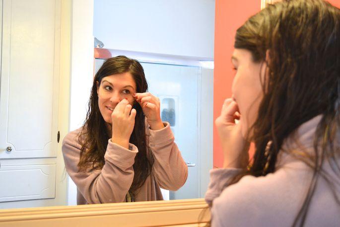 Under-Eye Treatment for tired eyes, Honest Hazel eye gels.