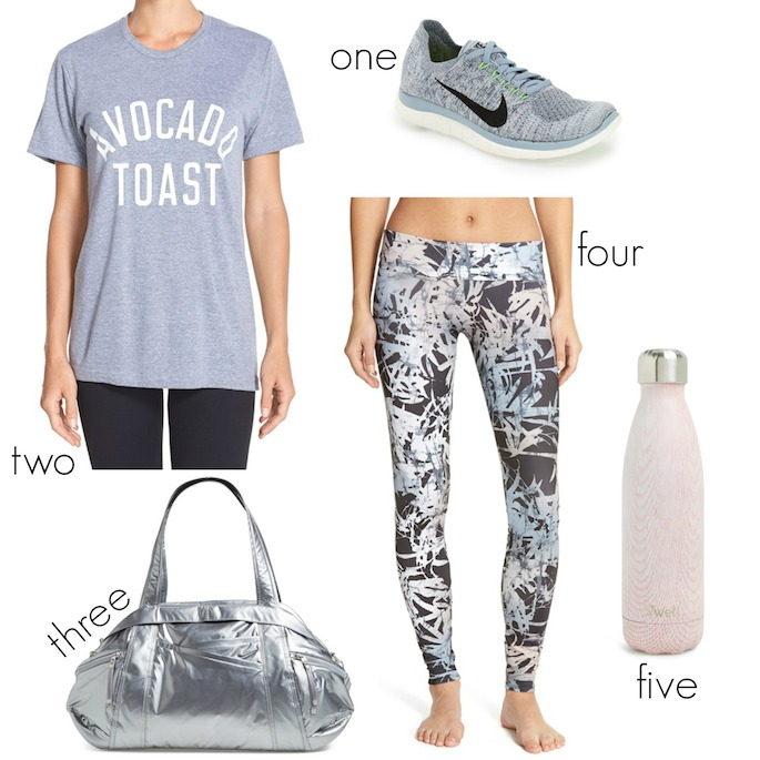 Avocado Toast Work Out Outfit