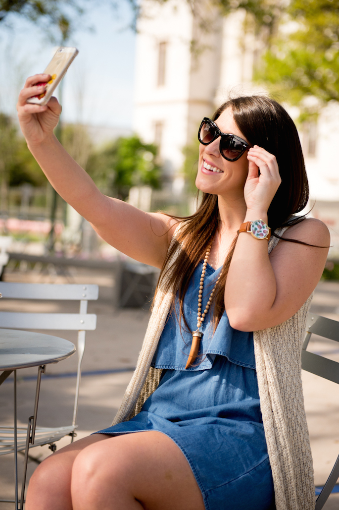 Southern Flair Selfie - How I use my favorite social media apps and who I love to follow!