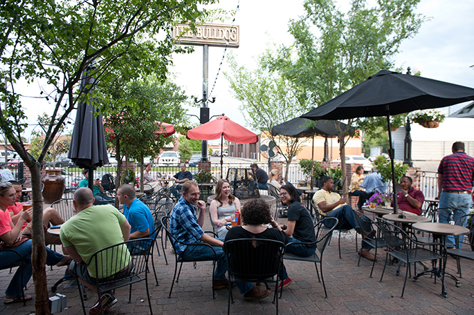 Where to Happy Hour in Baton Rouge - Stop by the Bulldog and enjoy their patio and beer on tap! See more in Southern Flair's LOCAL Guide to Visiting Baton Rouge, Louisiana