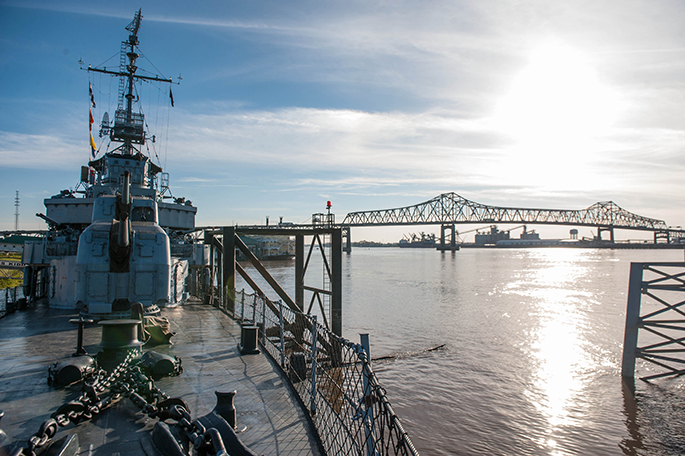 Visit the USS Kidd destroyer ship on your visit to Baton Rouge! See more of what to do and things to see in Southern Flair's Local Guide to Baton Rouge!