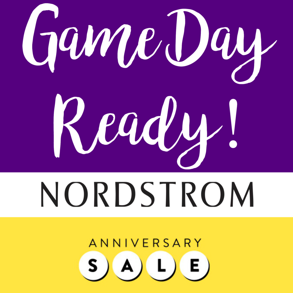 LSU Game Day Ready Nordstrom Sale | Tailgating Looks Perfect for this football season!