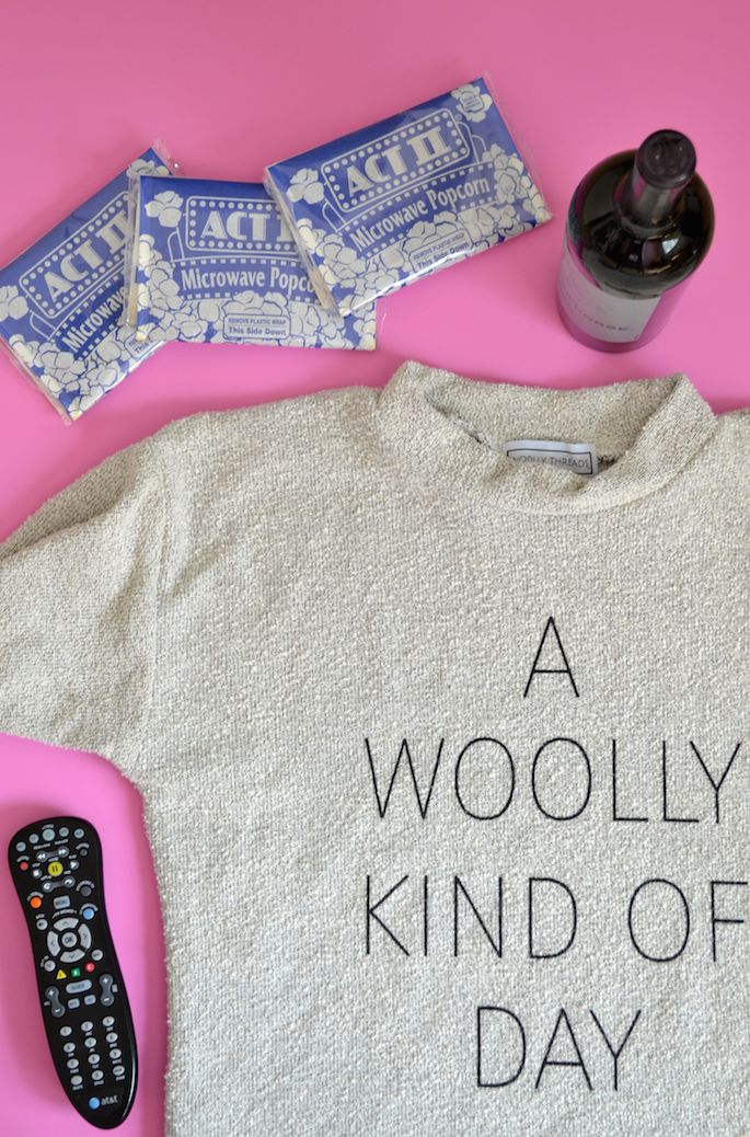 Getting cozy with Baton Rouge-based Woolly Threads for some summer reading and Netflix time!