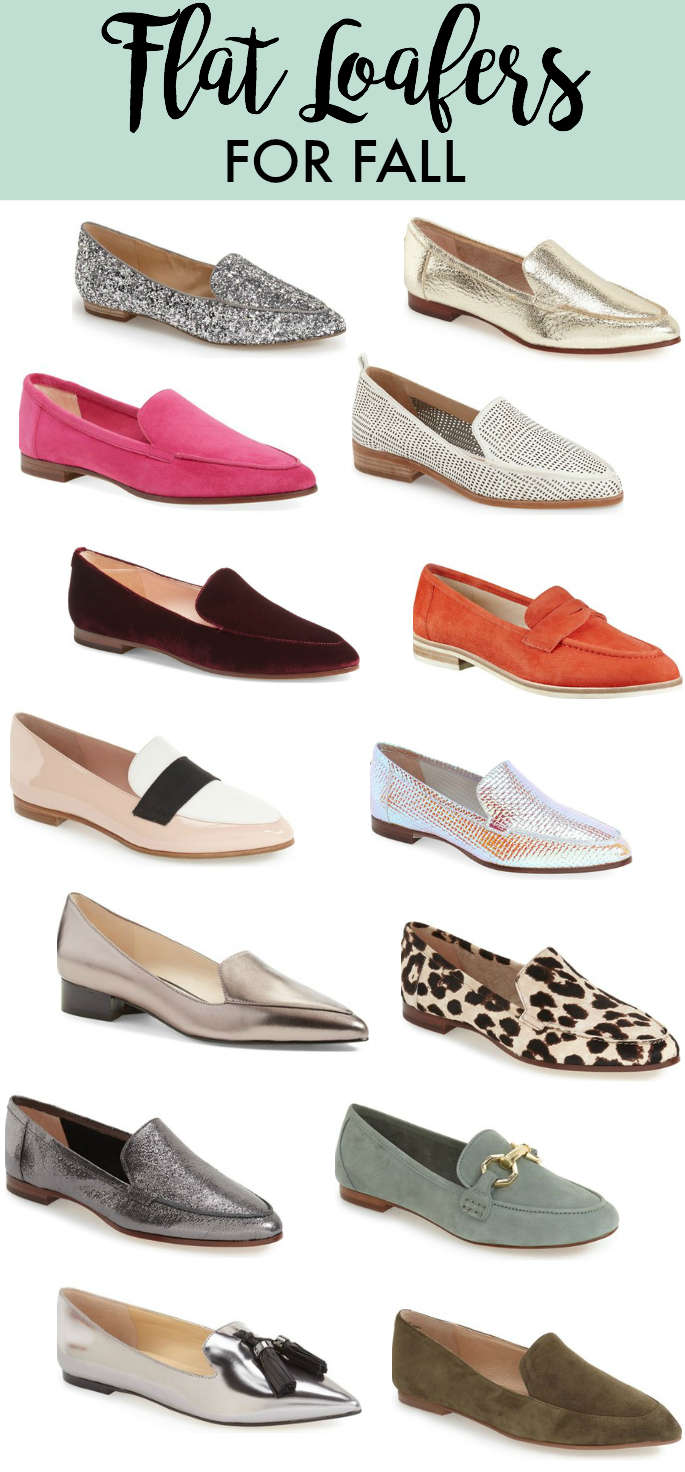 Flat Loafers for Fall