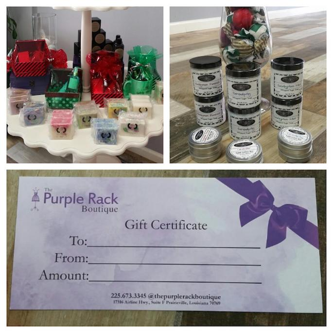 The Purple Rack Boutique in Praireville's top Christmas gift pick!