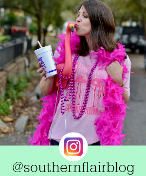 Follow Southern Flair on Instagram for even more Southern fashion, Louisiana Lifestyle and Local Love! @southernflairblog