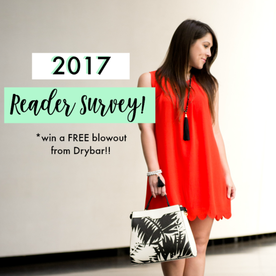 Take the Southern Flair 2017 Reader Survey for your chance to WIN a FREE blowout from Drybar,located at Perkins Rowe in Baton Rouge, Louisiana!