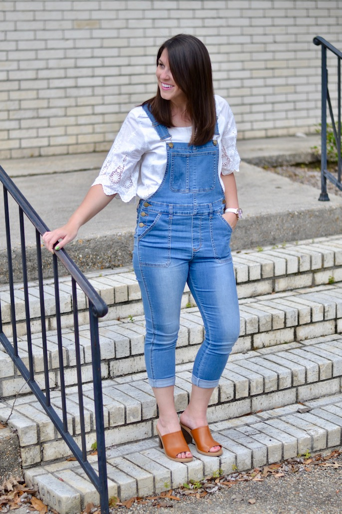 Style Mannequin Challenge Week 3: Wearing overalls for spring