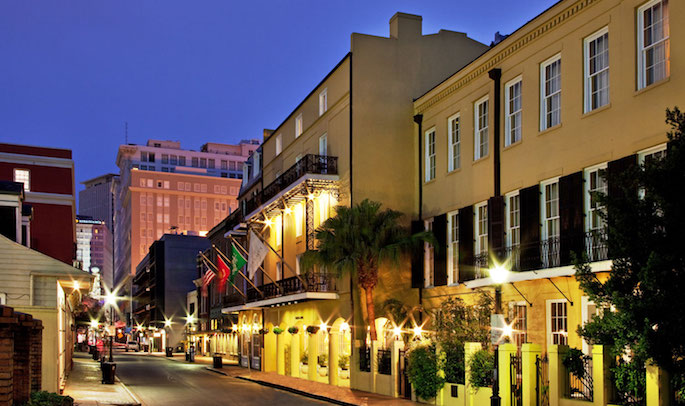 Located in the core of the French Quarter, Chateau LeMoyne , provides a boutique New Orleans experience seeped in history. Just steps from Bourbon Street, Jackson Square, world class dining and music venues, we offer an ideal location, while providing a quiet respite from all the excitement.