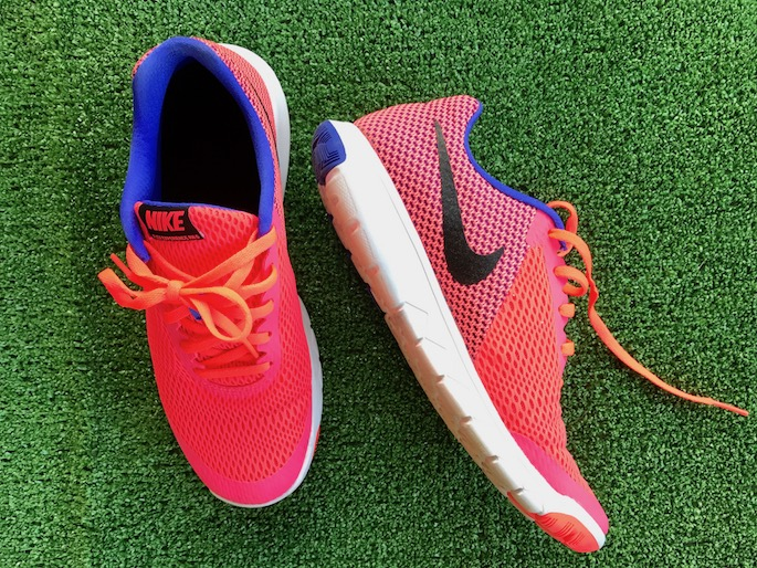 NIKE Bright Coral Running Shoe