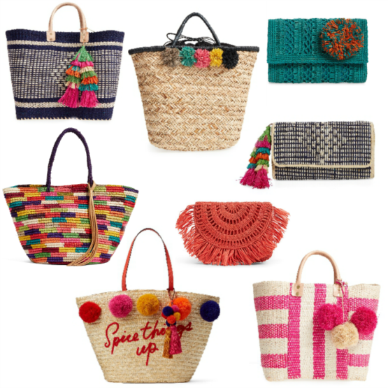 15 Woven Straw Bags You Need This Spring! Perfect for the beach or any Spring Break trip!