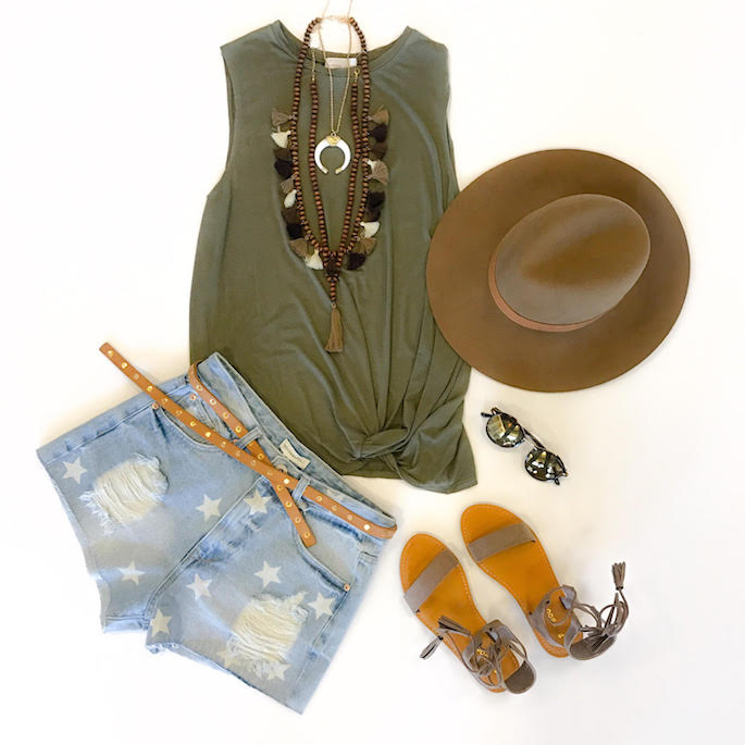 Mingle Boutique from Baton Rouge Louisiana shares their perfect Louisiana festival season outfit!