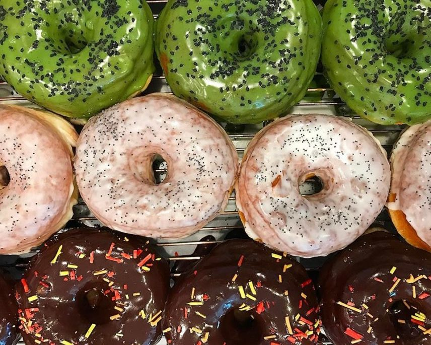 District Donuts recently opened in Town Center in Baton Rouge, Louisiana