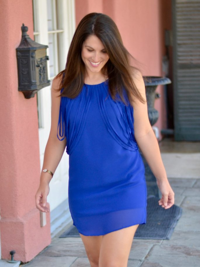 The Little Blue Dress from Southern Sophisticate, a Baton Rouge, Louisiana boutique that gives back.