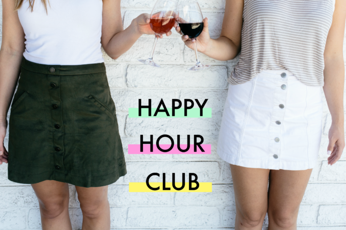 Baton Rouge Happy Hour Club by Southern Flair