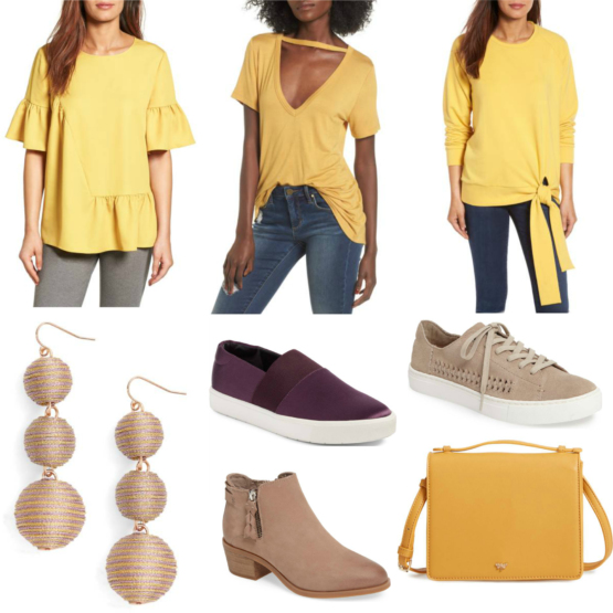 Purple and gold game day picks from the Nordstrom Anniversary Sale!