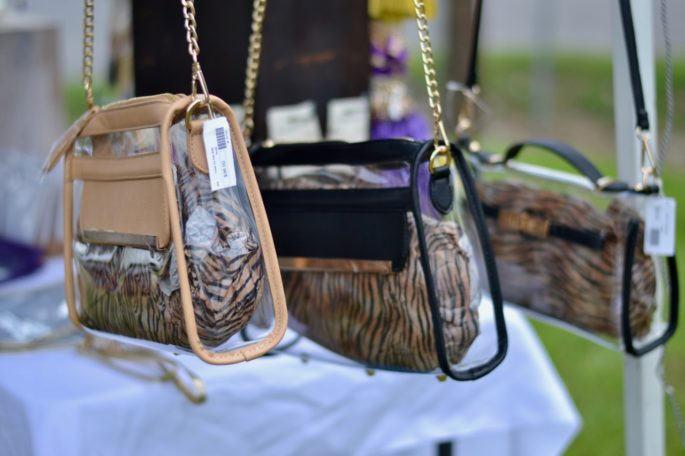 Tailgating Trends from this year's Fall Fashion Fest in Baton Rouge! Your one-stop-shop for all your purple and gold game day attire!