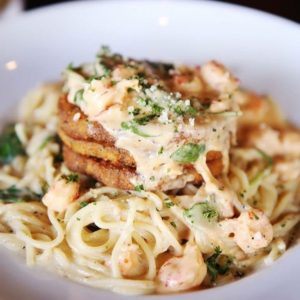 Celebrate National Pasta Day with Baton Rouge Portabello's!