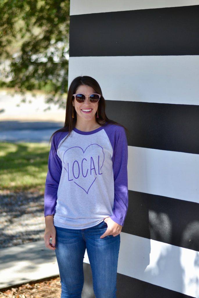 Shop Local Louisiana | Local tee by Hey Penelope in Baton Rouge