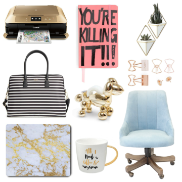 Gift Guide For the Biz Girl - Office, Desk, Tech and More | Southern Flair Holiday Gift Guide