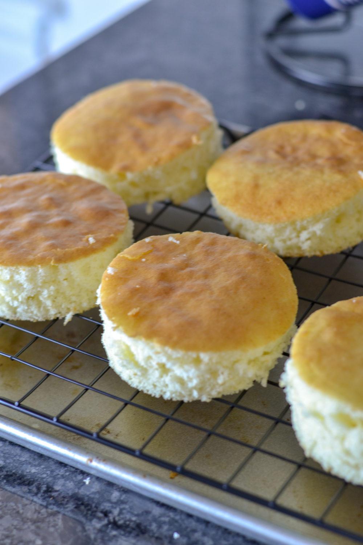 Homemade Mardi Gras Little Debbie Cakes - a fun twist on a Louisiana King Cake
