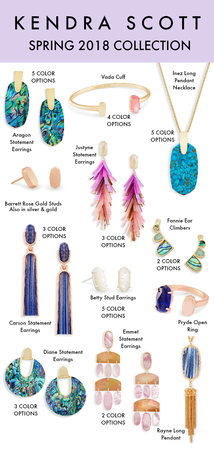 Kendra Scott 2018 Spring Collection